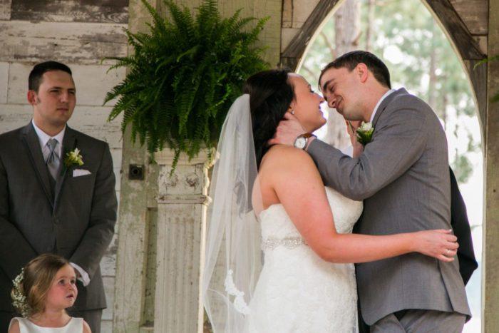 Cameron & Kayla's Beautiful Wedding at The Peach Barn at Timbermill Acres, Wedding Photography by Velas Studio. Tifton Georgia.