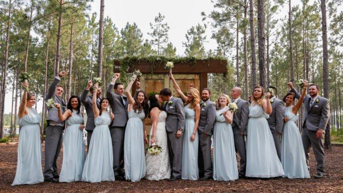 Beautiful Wedding at The Peach Barn at Timbermill Acres, Wedding Photography by Velas Studio. Tifton Georgia.