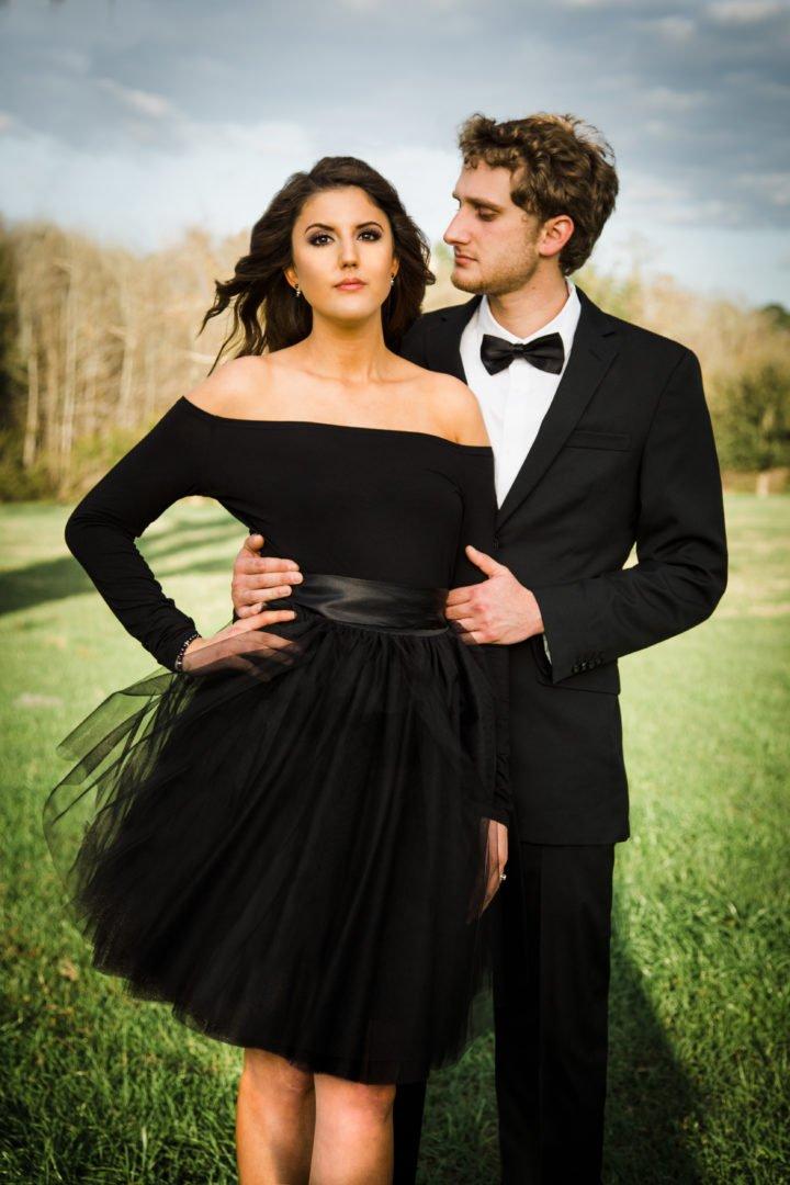 Tyler & Halie engagement photoshoot valdosta GA
