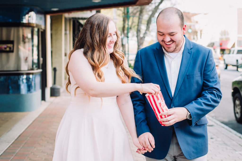Caleb & Martina | Valdosta Historic Downtown Engagement session