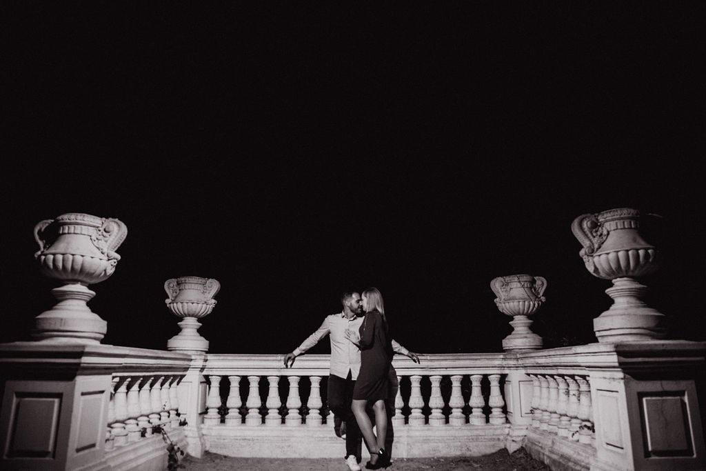 fotos de pareja en Parque El Retiro, Madrid España
