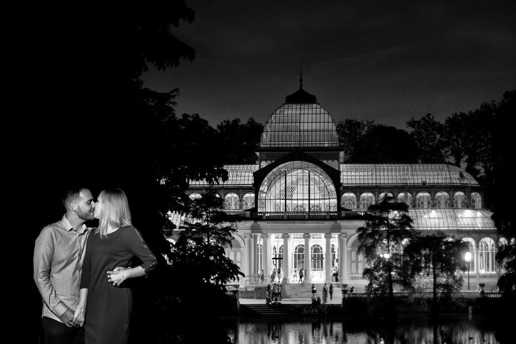 Reportaje de bodas en Parque El Retiro