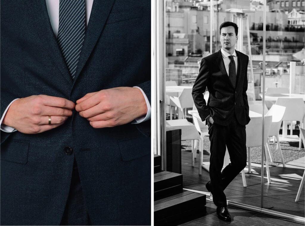 vestidos pronovias trajes hugo boss