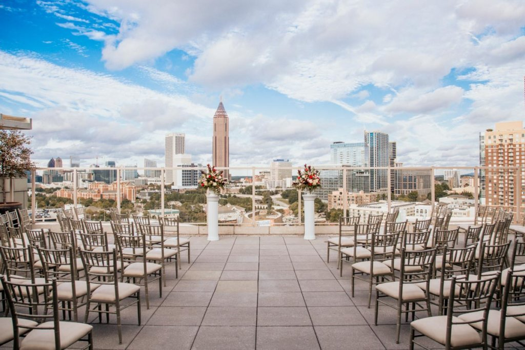Wedding at Venue ventanas Atlanta | Brittany & Christopher