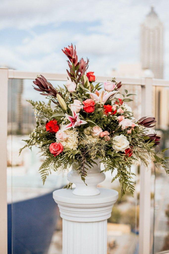 Wedding at Venue ventanas Atlanta | Brittany & Christopher, Flowers
