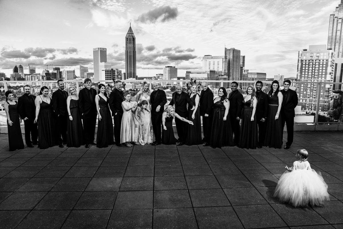 Wedding at Venue ventanas Atlanta | Brittany & Christopher