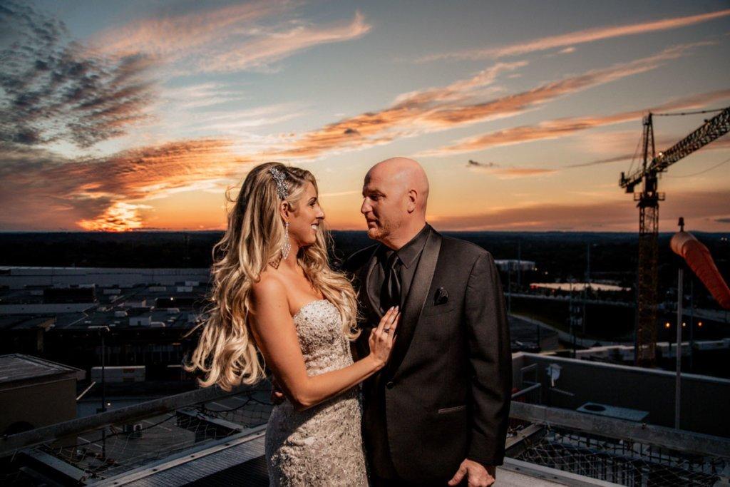 Rooftop Wedding Ventanas Atlanta | Brittany & Christopher