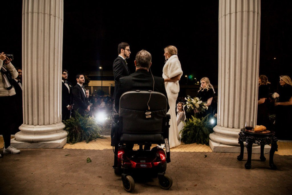 Wedding at The Crescent, Valdosta Georgia