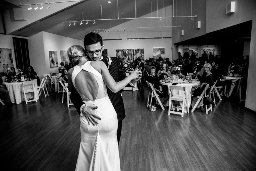 Sunni & Felipe's first dance at the Arts Center in Valdosta, GA