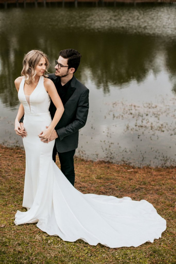 Sunni & Felipe wedding couple in Valdosta GA