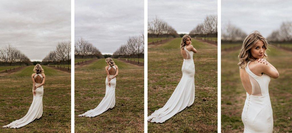 Bride in Valdosta Georgia