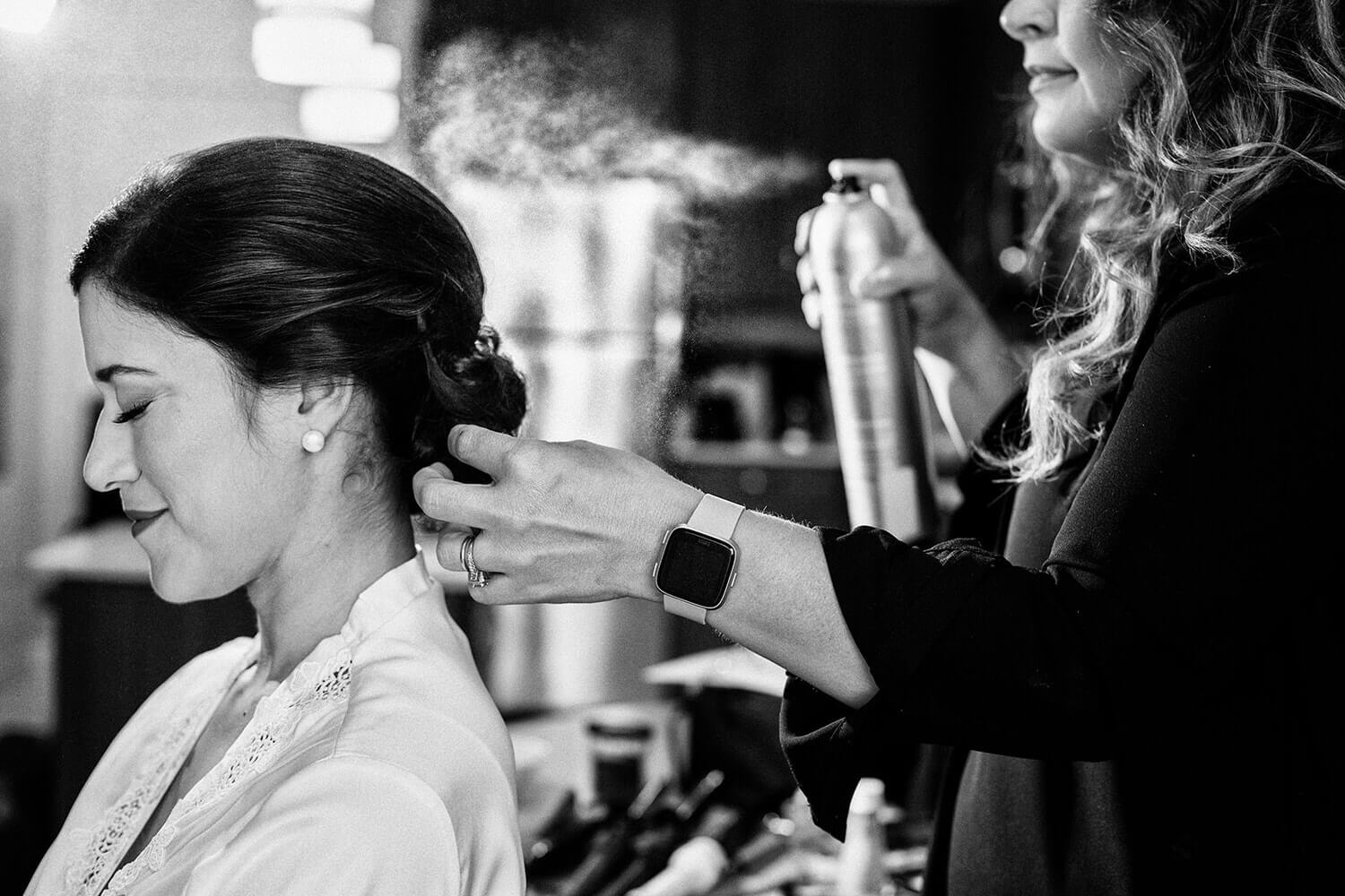 bride hairstyles spry