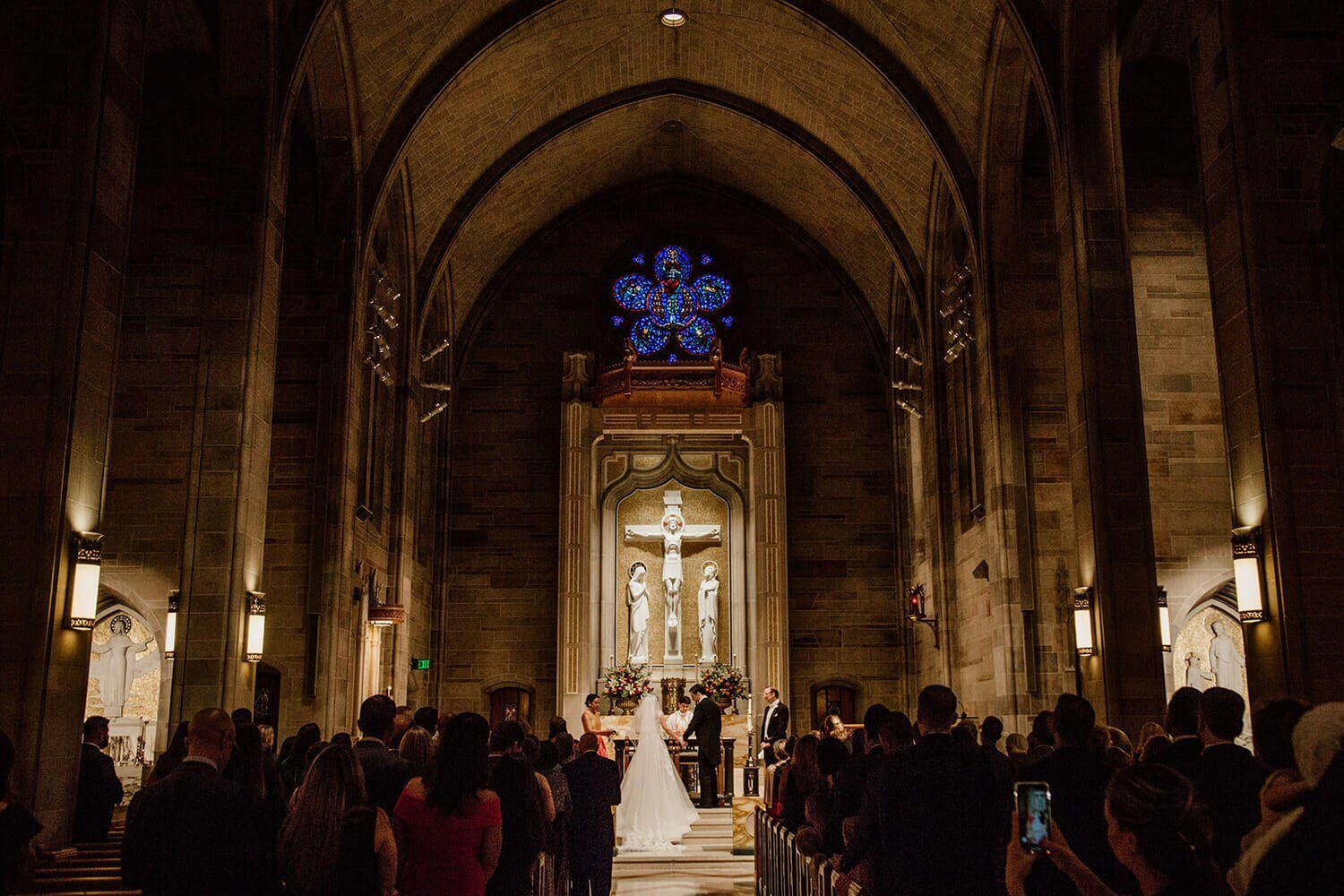 Wedding at The Cathedral Of Christ The King
