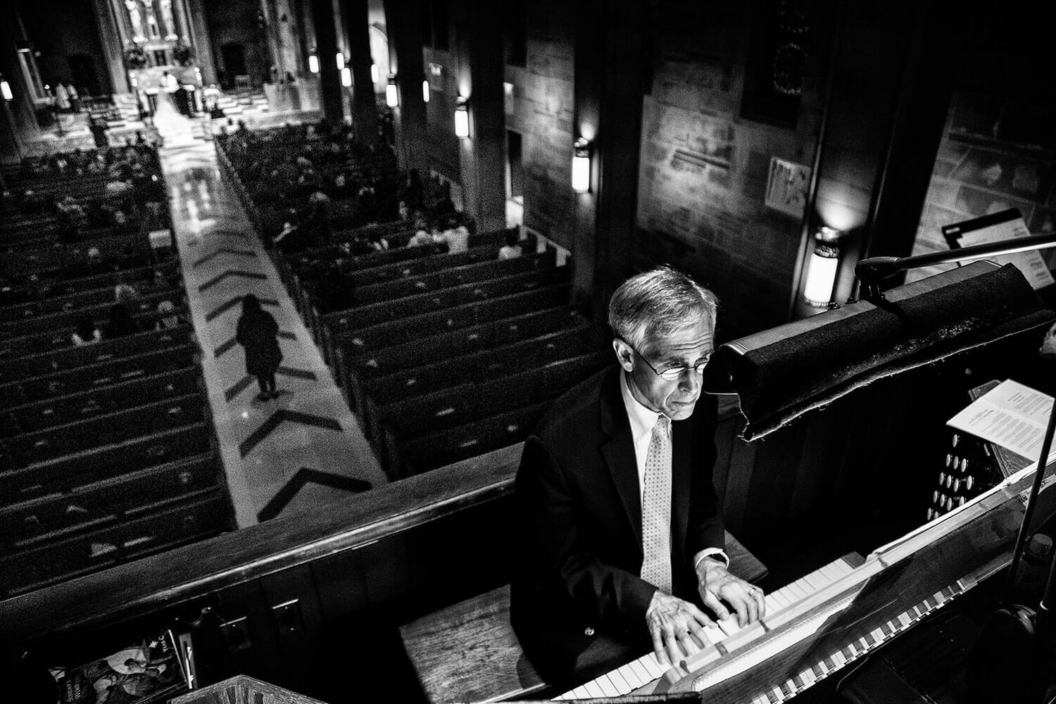 Cathedral of Christ the King organist Tim Wissler