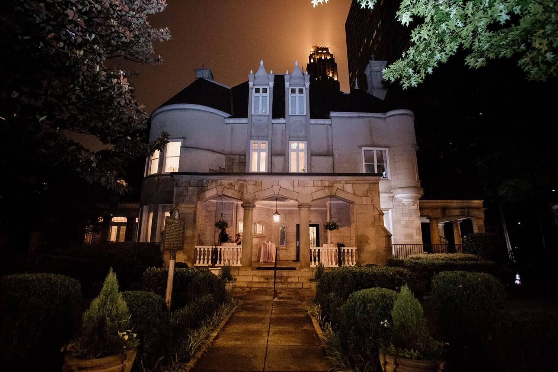The Wimbish House venue in Atlanta Georgia