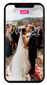 Iphone wedding live