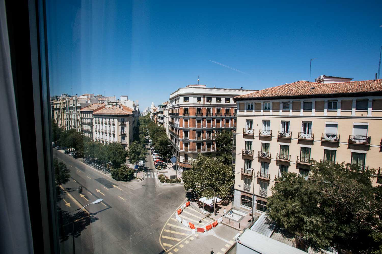 vista desde el hotel H10 Puerta de Alcalá 4