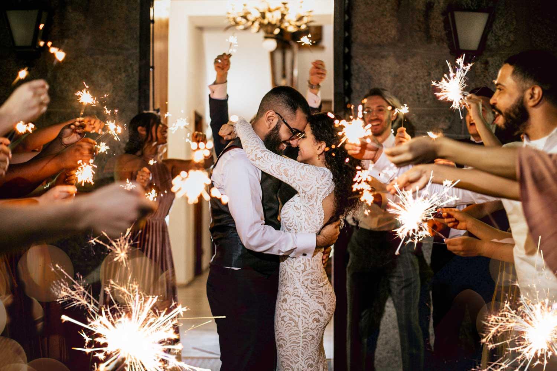 wedding exit sparkles finca los torreones