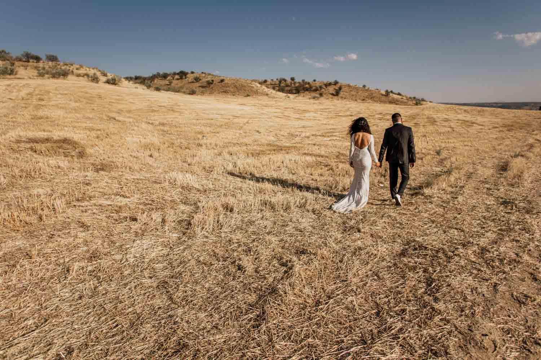 sesión post boda en toledo
