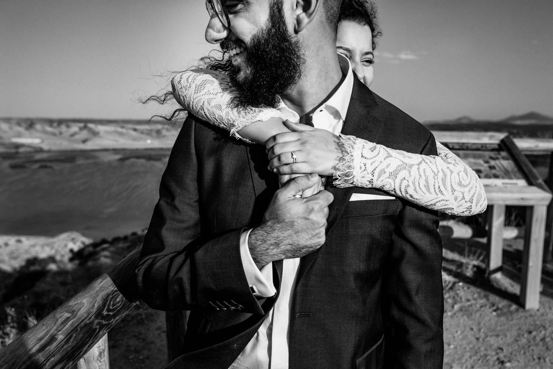 sesión post boda en las barrancas de burujón toledo