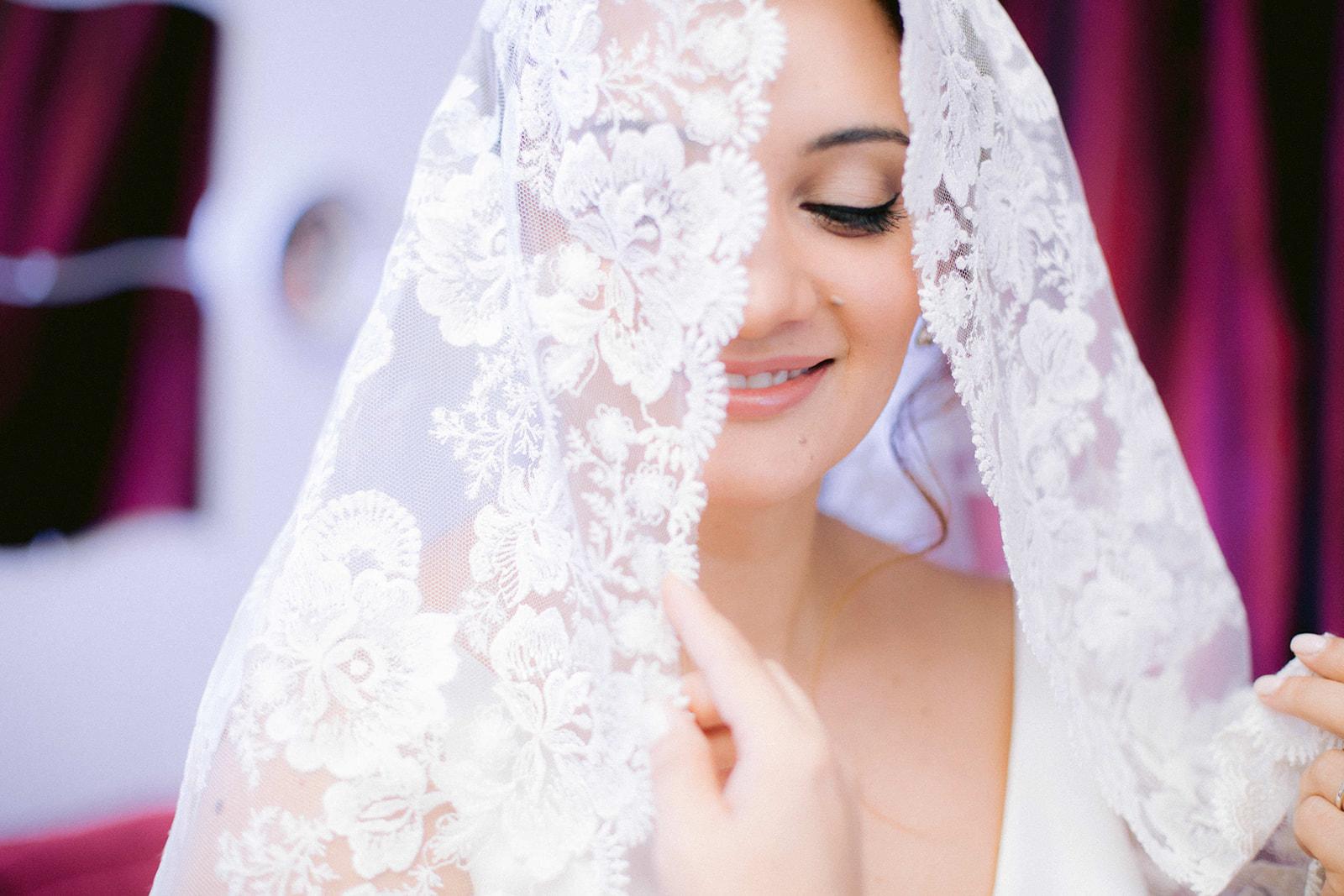 novia rosa clara