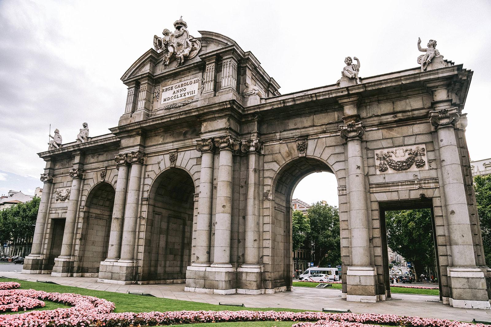 Puerta de Alcalá Plaza de la Independencia, s/n, 28001 Madrid