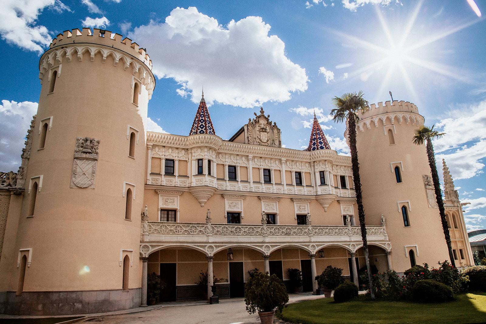 Pabellon de Caza Castillo de Viñuelas Madrid