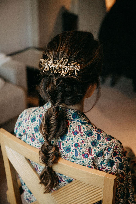 peinado de novia 2021