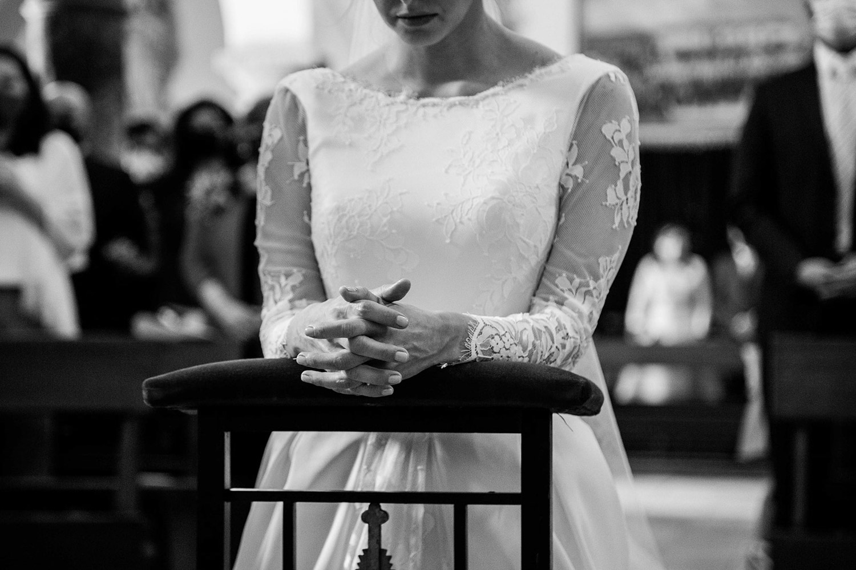 novia en Ermita nuestra señora de la paz