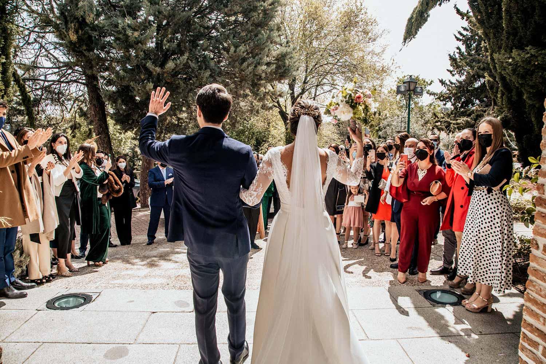 boda en la Ermina nuestra señora de la paz
