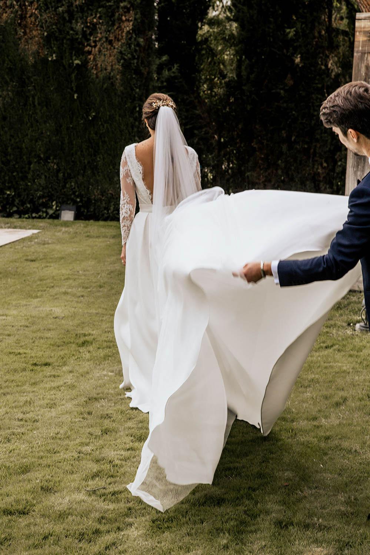 Vestido de novia Lucia de Miguel