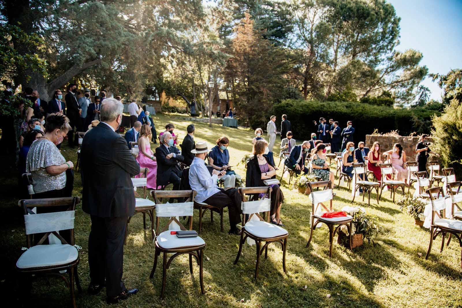 invitados en Finca Etxemendi-Etxondo