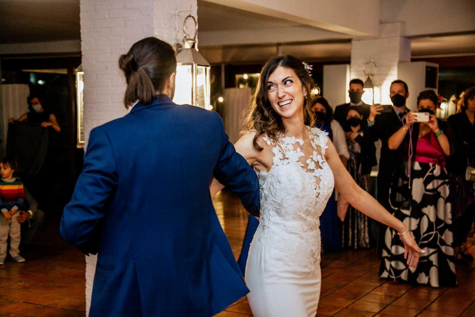 baile de los novios Finca Etxemendi-Etxondo